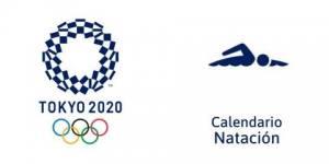 Calendario Natación Tokio 2020