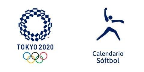 Calendario Softbol Tokio 2020
