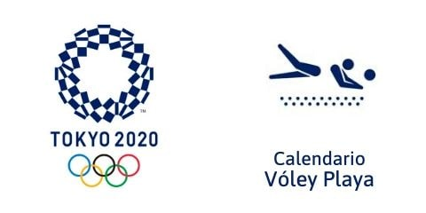 Calendario Vóley Playa Tokio 2020