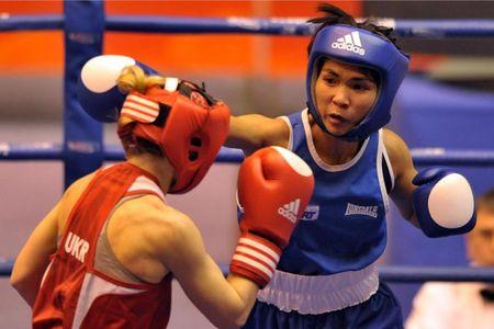 Combate de Boxeo Femenino