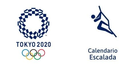 Calendario Escalada Tokio 2020