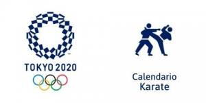 Calendario Karate Tokio 2020