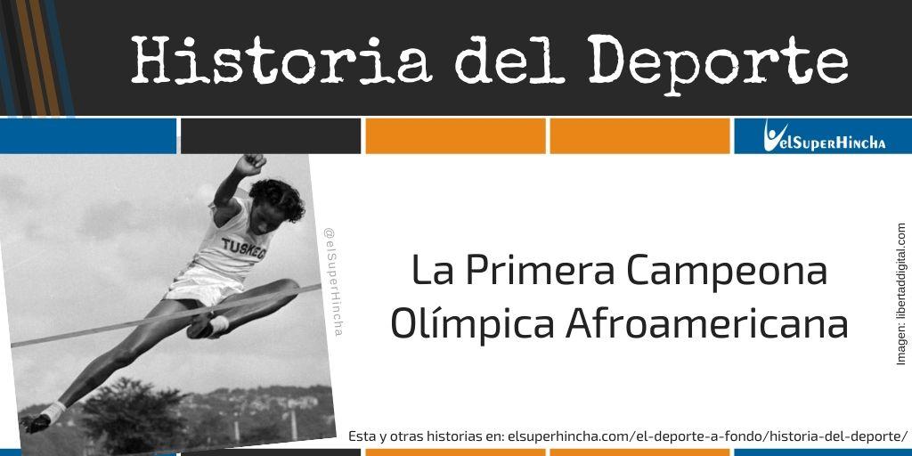 Alice Coachman. La Primera Campeona Olímpica Afroamericana