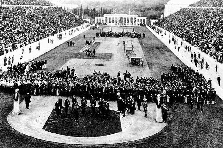 Ceremonia de Apertura de los Primeros Juegos Olímpicos Modernos, Atenas 1896