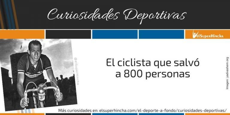 Gino Bartali. El ciclista que salvó a 800 personas