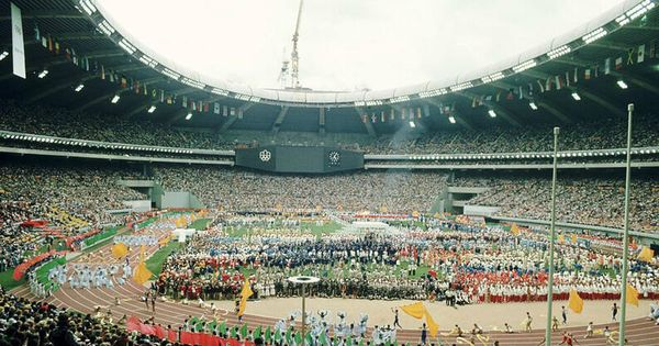 Inauguración de los Juegos Olímpicos de Montreal 1976