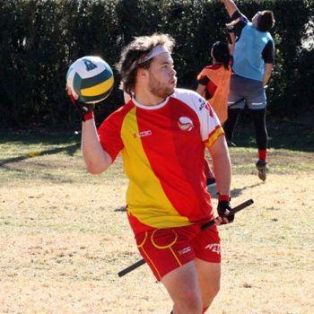 Jugador de la Selección Española de Quidditch