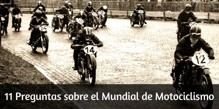 Preguntas sobre el Mundial de Motociclismo