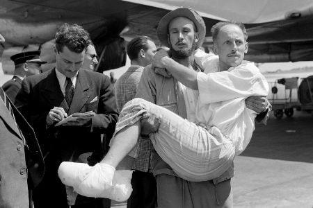 Louis Lachenal a su llegada a París