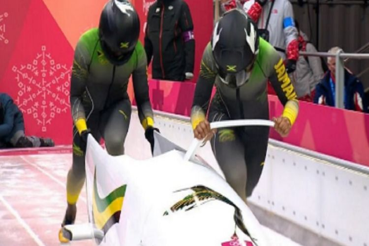 Jamaica en la competición femenina de bobsleigh PeyongChang 2018