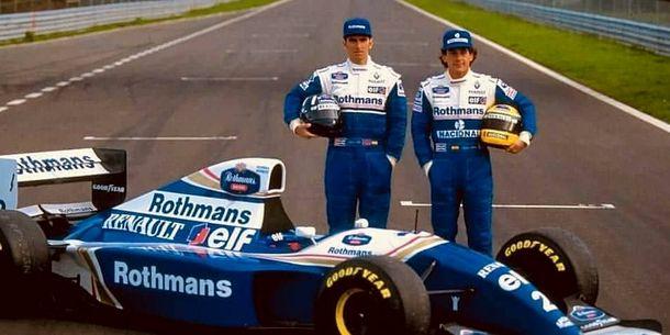Presentación del Williams en 1994