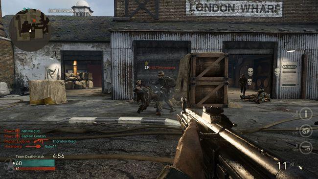 Captura de Call of Duty un Videojuego de tirador en primera persona