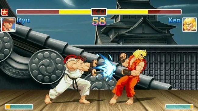 Captura de Street Fighter, uno de los eSports de lucha más populares.