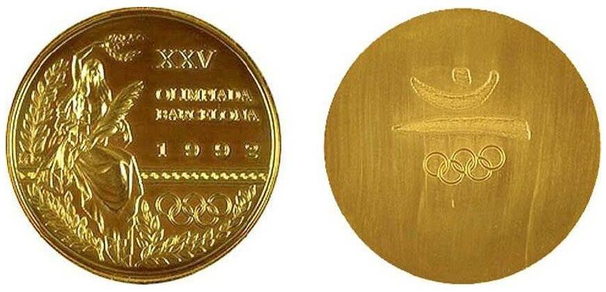 Medalla Olímpica de Oro Barcelona 92
