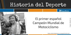 �ngel Nieto. El primer español Campeón Mundial de Motociclismo
